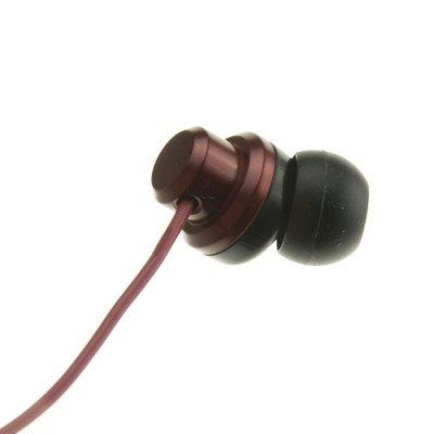 Red JVC Riptidz Inner-Ear Earbuds Headphones ( 100 PACK ) BY NETCNA