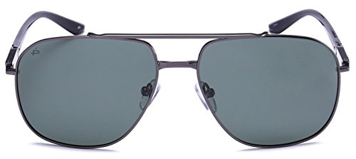 "PRIVÉ REVAUX ""The Dealer"" Handcrafted Designer Polarized Aviator Sunglasses For Men & Women - Sunglasses Prive"