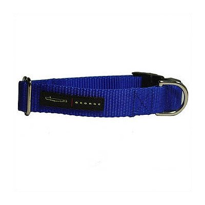 Nylon Dog Collar Size: Large, Color: Royal Blue