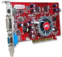 AGP Graphics Cards Ferris Marketing, Inc. ATI Radeon X1050 256MB AGP 8x Graphics ()