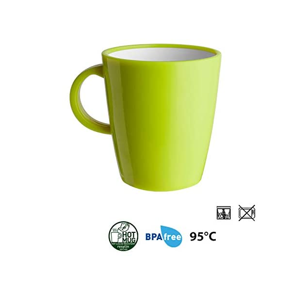 31RkU 7zr%2BL Brunner- Outdoor in Motion - Campinggeschirr Melamin (Set: 12, 16 oder 36 Teilig), 4 Personen - Space - Hochwertig…