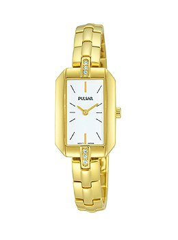 Pulsar Night Out Two-Hand Stainless Steel - Gold-Tone Women's watch #PRW004X