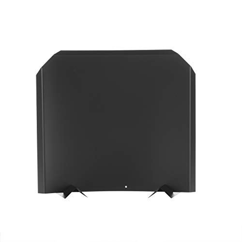 - HY-C FB1618 Fireback, Stainless Steel Painted Black, Adjustable Installation, Protects Firebox, 16