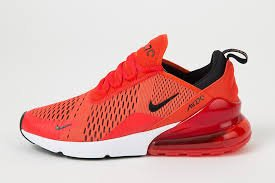 more photos 0bede 4c101 Nike Air Max 270 Men s Shoes Habanero Red Black White ah8050-601 (8.5 D(M)  US)