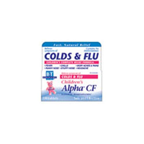 Boericke & Tafel Children's Alpha CF Colds/Flu 100 Tablet Alpha Cf 100 Tab