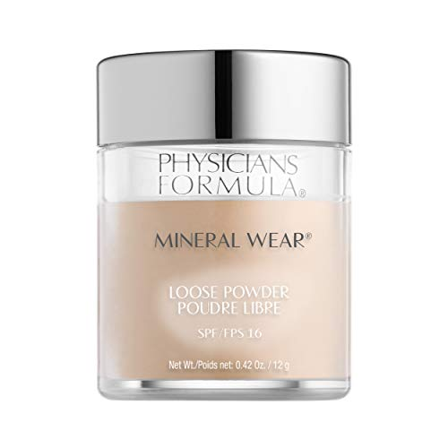 Physicians Formula Spf 16 Mineral Wear Loose Powder, Translucent Light, 0.42 Ounce ()