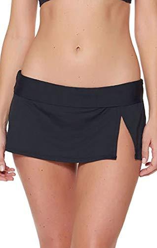 - Bleu Rod Beattie Women's Kore Skirted Hipster Bikini Bottom Black 10