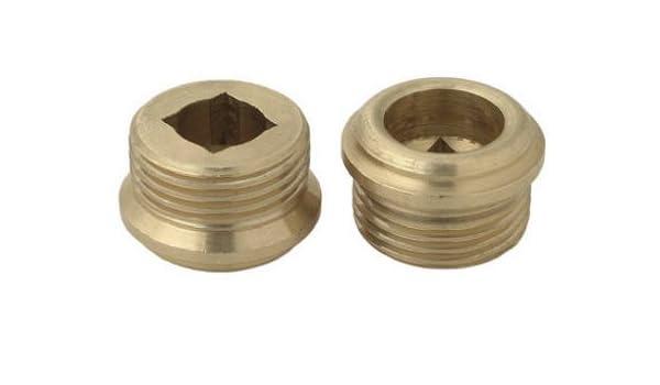 brass craft service parts scb0834x 10 Pack Brass Seat Inch x 24 Thread 9//16