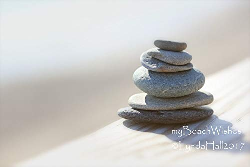 Beach Stone Photography- In Balance, Cairn Rock Photo