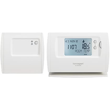 Homexpert Heating Controls THR872CUK 7 Day Wireless Programmable Thermostat By Heating Controls