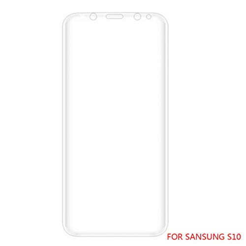 Wrea Replacement for Samsung S10/S10 plus/S10E Phone Screen Protector Toughened Membrane Full Screen Cover Sticker Film