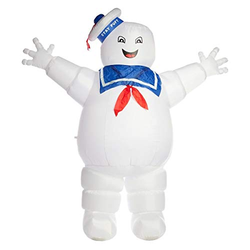 oldzon Inflatable Stay Puft Marshmallow Man 8 ft Halloween Yard Decoration Airblown Outdoor with Ebook