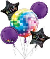 70's Disco Fever Bouquet Of Balloons -