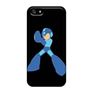 Casecover88 Perfect Cases For Iphone 5/5s/ Anti-scratch Protector Cases (mega Man Outline)
