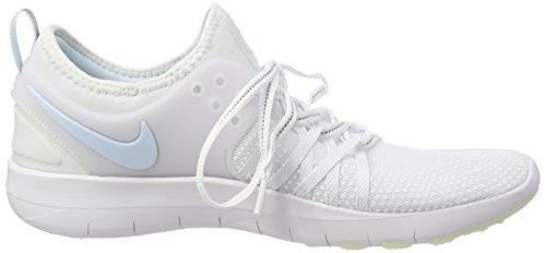 NIKE Women's Free TR 7 Training Shoes (9, White/Grey/Blue-M) by NIKE (Image #6)