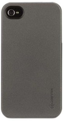 Griffin GB02653 Outfit Ice for iPhone 4S - 1 Pack - Retail Packaging - GunMetal (Apple Iphone 3g Ice)