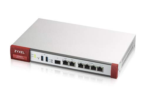 Zyxel Advanced Threat Protection Security UTM Firewall for Small Business Includes 1-Year UTM Services Bundled and Sandboxing Threat Protection [ATP200]
