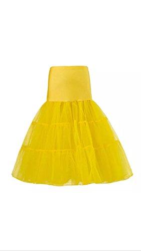 Gas Donna Inc Sottoveste Yellow Gonna Axe pwxHrTqpa
