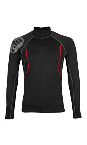 Gill Men's Hydrophobe Long Sleeve Top, Black, Large - Gill Thermal