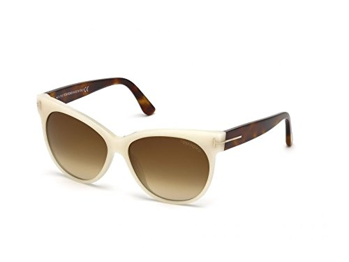 Tom Ford TF330 20F White Ivory / Brown Gradient ()