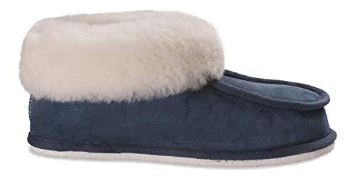 472 Lena Shepherd Navy Pantofole white Donna 5dqxqS