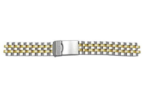 Genuine Wenger Avalance Series Dual Tone 20mm Watch Bracelet