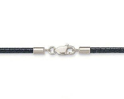 Thomas Sabo Black Imitation Leather Strap Necklace of Length 80cm tUzR9eTsf