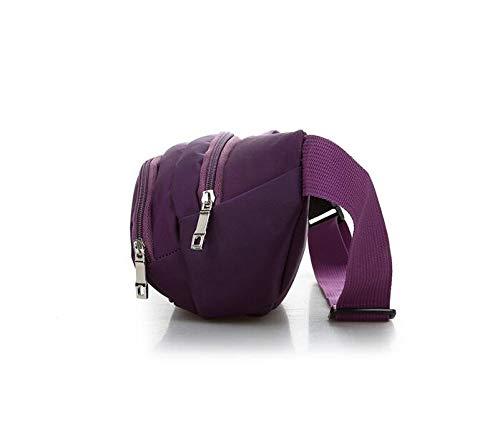 Homme L'épaule À Dos Shanzwh violet Sport Sac Bandoulière Pour wqI0WgB0
