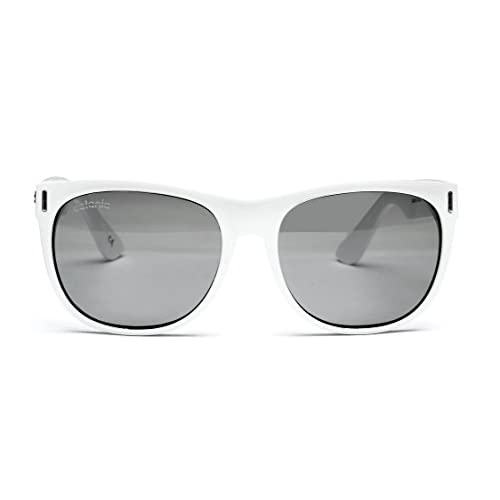 149cc73704 Chic Catania Occhiali Gafas de Sol - Modelo Wayfarer Vintage (UV400 ...