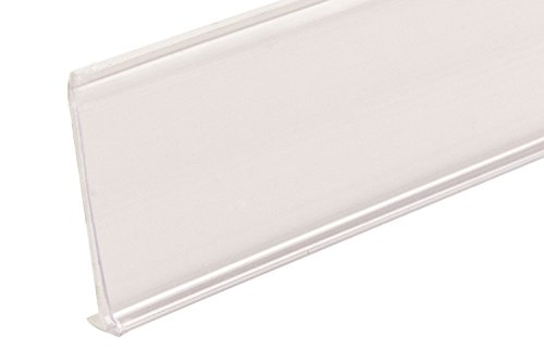 FFR Merchandising 4401036701 DSE-200G Self-Adhesive Data Strip Label Holder with Guide Bar, 1-1/4
