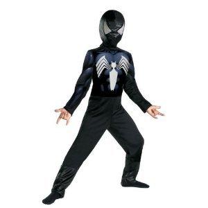 Black Suited Spiderman Costume (Venom Costume Husky 10.5-12.5)