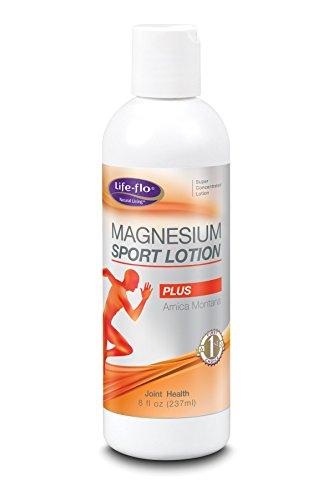 Magnesium Sport Lotion w/Arnica Peppermint Life Flo Health P