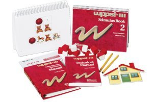 WPPSI-III Stimulus Booklet 1 - 015898935X - Includes Receptive Vocabulary, Block Design, Information, Matrix Reasoning, Vocabulary, and Picture Concepts