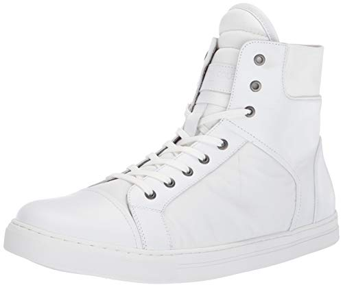 Kenneth Cole New York Men's Kam High Top Sneaker, White 7 M US