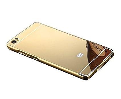 online store 833d7 dff5c MVE Luxury Metal Bumper + Acrylic Mirror Back Cover: Amazon.in ...