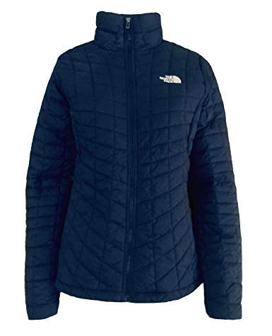 The North Face Women's Thermoball Full Zip Insulated Jacket (Medium) (Coat Quilted Zip Full)