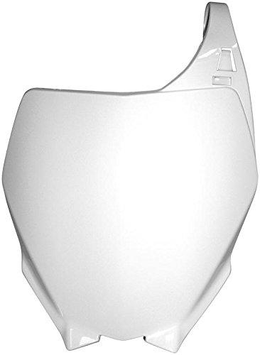 Plaque Numero Frontale Blanc Pour Yz//125//250 2006-10 Yzf250//450 2006-09
