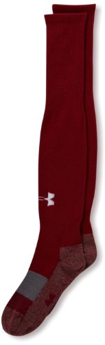 Under Armour Soccer Solid Over the Calf Youth Socks, Cardinal