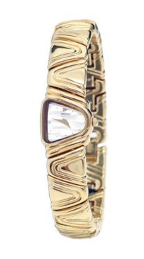 Seiko GOLD TONE WHITE MOP LADIES WATCH SXNG32P