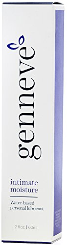 genneve Intimate Moisture, 2-in-1 Menopause Lubricant and Feminine Moisturizer, All-natural Personal Lube for Vaginal Dryness, Free of Parabens, Hormones, Fragrance, Travel-sized (2 Ounces)