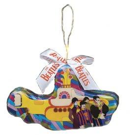 The Beatles Yellow Submarine Decoupage Ornament