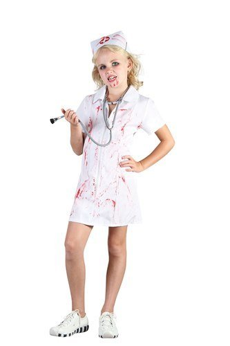 Parties Unwrapped Big Boys' Mad Nurse Halloween Fancy Dres Costume Large (10-12 Years) -