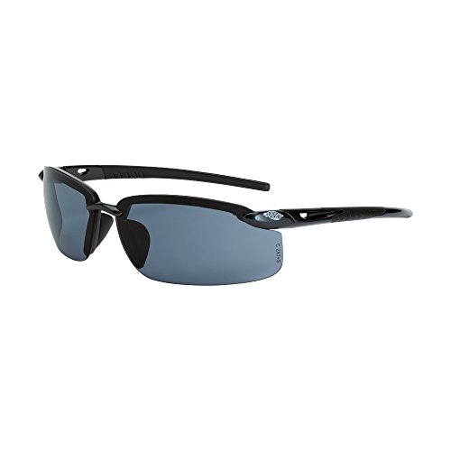 Crossfire Eyewear 2961 ES5 Safety Glasses with Gray Temples with Smoke - Online Usa Sunglasses Store