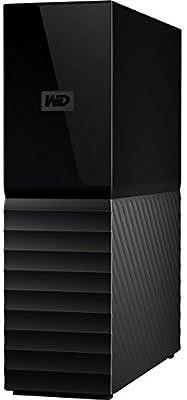 WD 8TB My Book Desktop External Hard Drive, USB 3 0 - WDBBGB0080HBK-NESN