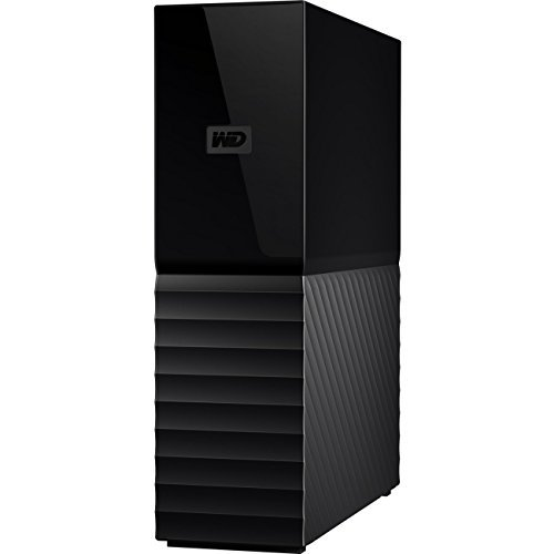 WD My Book 8TB External USB 3.0 Hard Drive Black WDBBGB0080HBK-NESN