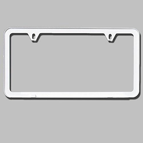 Buy white plate frame