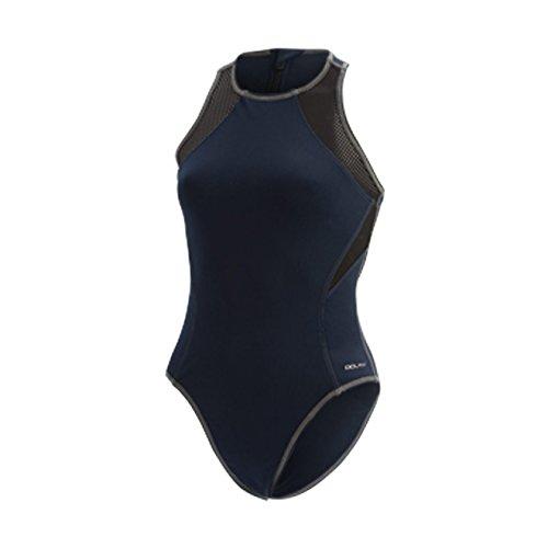 Dolfin Women's Water Polo ONE-Piece Swimsuit Navy Size 36