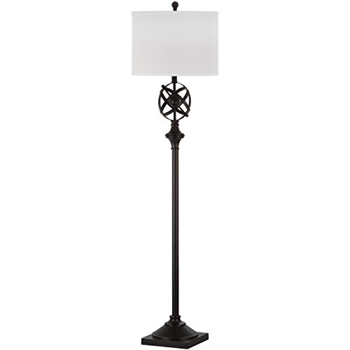 Collection Bronze Floor Lamp - Safavieh Lighting Collection Franklin Armillary Oil-Rubbed Bronze 60-inch Floor Lamp