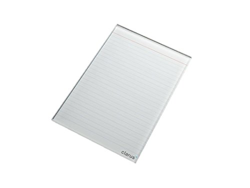 (Classic Ruled Mini Glass Dry Erase Notepad Tablet for Business, Desks, Kitchens, Schools)