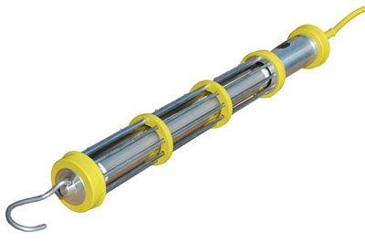 Larson Electronics 0321OXC7N6S Explosion Proof Aluminum LED Drop Light & Cord Reel - Class I, Div. I - 100' SOOW Cord - Schuko Plug